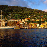 Bergen,Norway Royalty Free Stock Photo