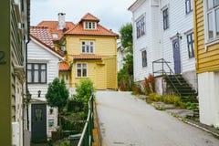 Wooden houses in Bergen, Norway