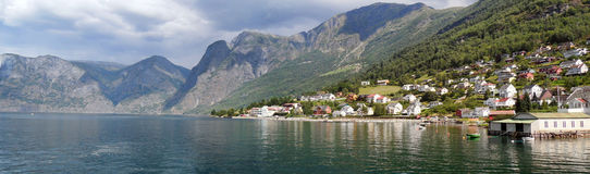 Bergen Norway - Naerofyord Royalty Free Stock Photo