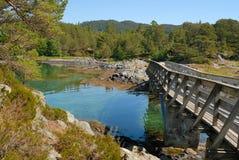 bergen norway sommar Arkivbilder
