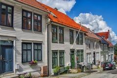 BERGEN, NORWAY. Wooden houses in Bergen, Norway Royalty Free Stock Photography