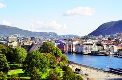 Bergen, Norwegen Stockbild