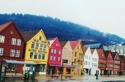 Bergen Norwegen lizenzfreie stockfotografie