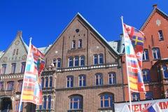 bergen Norwegian city Stock Images