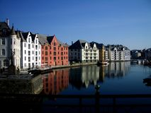 Bergen Norwey Zdjęcie Royalty Free