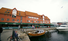 Bergen old town, port Royalty Free Stock Photos