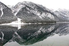 Bergen in Oostenrijk Stock Foto