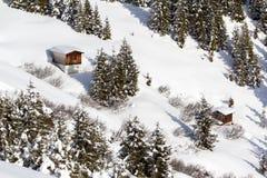 Bergen in Oostenrijk Stock Afbeelding
