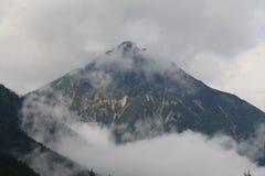 Bergen in Oostenrijk, jaar 2009 Stock Foto's
