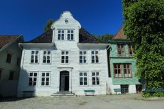 Bergen open air museum Royalty Free Stock Photography