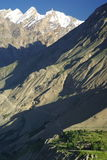 Bergen over Askole Royalty-vrije Stock Afbeeldingen