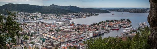 Bergen Panorama Stock Photos