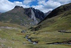 Bergen in Peru Stock Foto's