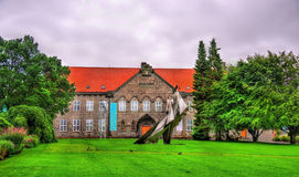 Bergen Public Library in Norwegen Lizenzfreie Stockfotografie
