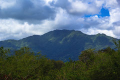 Bergen in Puerto Rico royalty-vrije stock foto's