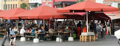 Bergen Rybi rynek Obraz Stock