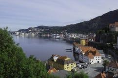 Bergen Sandviken Royaltyfri Bild