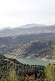 Bergen in Sierra Nevada royalty-vrije stock afbeeldingen