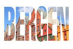 Bergen sign Royalty Free Stock Photos