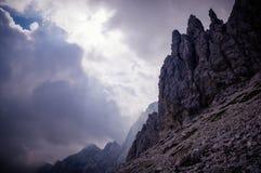 Bergen in Slovenië Stock Afbeelding
