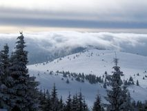 Bergen in Slowakije stock afbeelding