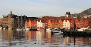 Bergen stary miasteczko zdjęcie stock