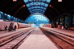 Bergen Station Royaltyfria Bilder