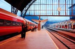 Bergen Station Royaltyfri Foto