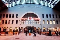 Bergen Station Stock Photos