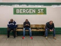 Bergen Street Subway Station fotos de stock
