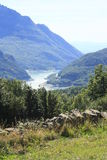 Bergen in Tena-vallei, de Pyreneeën Panticosa Stock Foto