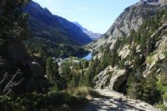 Bergen in Tena-vallei, de Pyreneeën Panticosa Royalty-vrije Stock Foto