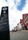 Bergen, UNESCO-Stadt. Lizenzfreie Stockfotos