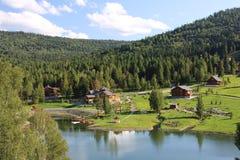Bergen van Altai Stock Fotografie