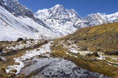 Bergen van Annapurna Royalty-vrije Stock Foto