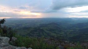 Bergen van Brazilië stock fotografie