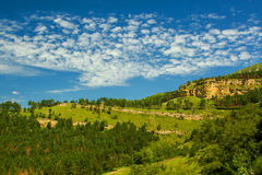 Bergen van de Kaukasus Stock Foto's
