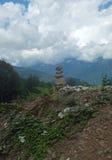 Bergen van de Kaukasus 7 Stock Afbeeldingen