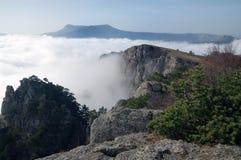 Bergen van de Krim Royalty-vrije Stock Afbeeldingen