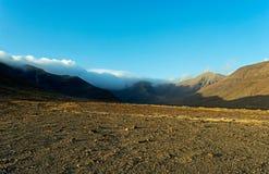 Bergen van Fuerteventura op gebied Jandia Royalty-vrije Stock Afbeelding