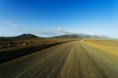 Bergen van Fuerteventura op gebied Jandia Stock Fotografie