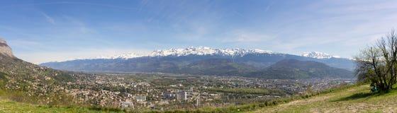 Bergen van Grenoble royalty-vrije stock foto
