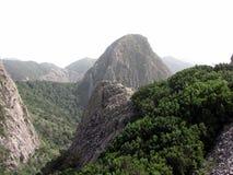 Bergen van het eiland van La Gomera Stock Afbeelding