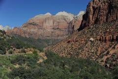 Bergen van het Park van Zion de Nationale Royalty-vrije Stock Foto