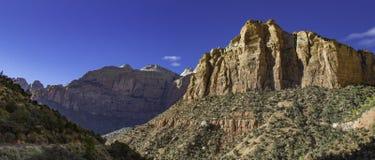Bergen van het Zion de nationale park Royalty-vrije Stock Fotografie