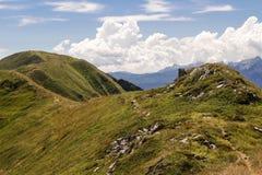 Bergen van Italië: de waaier van Appennini royalty-vrije stock foto
