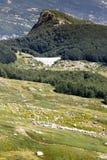 Bergen van Italië: de waaier van Appennini royalty-vrije stock afbeelding