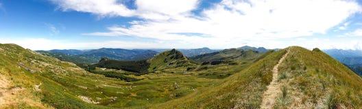 Bergen van Italië: de waaier van Appennini royalty-vrije stock fotografie