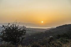Bergen van Kreta Royalty-vrije Stock Afbeeldingen