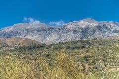 Bergen van Kreta Stock Afbeelding